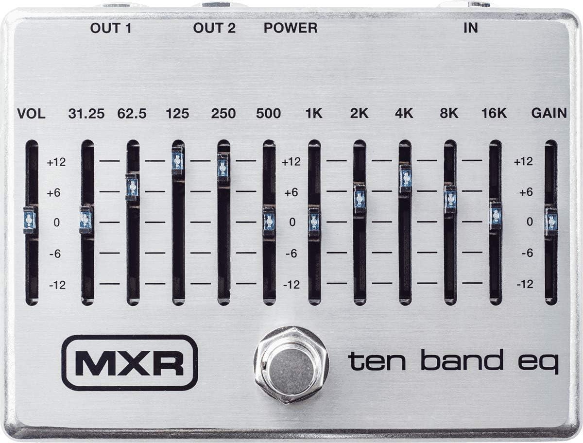 M 108S 10-Band EQ Silver