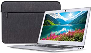 "Acer Chromebook 14 CB3-431-12K1 14"" Chromebook - 1366 x 768 - Atom x5 E8000-4 GB RAM - 32 GB Flash Memory - Sparkly Silver - Chrome OS - Intel HD Graphics - ComfyView - English (US) Keyboard -"