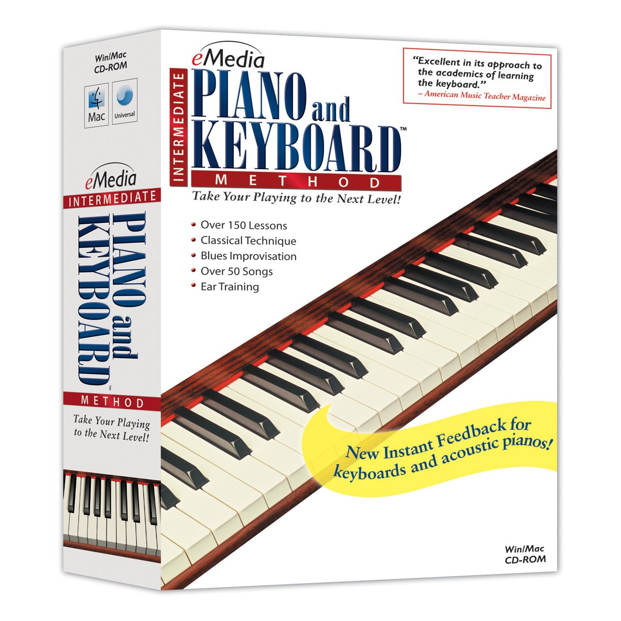 eMedia Intermediate Piano and Keyboard Method v2 [PC Download] EK03121DLW
