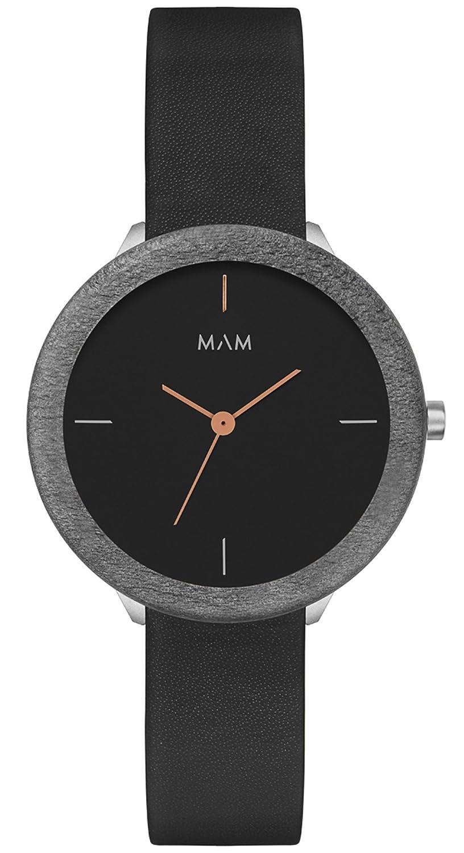 Amazon.com: Mam originals dark maple night 085 Womens japanese-quartz watch: Watches
