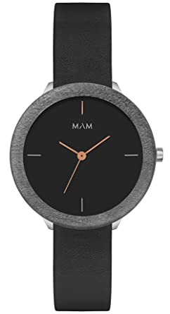 Mam originals dark maple night 085 Womens japanese-quartz watch