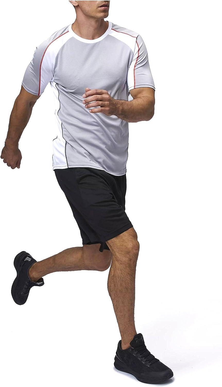 Sundried Camiseta de Atletismo Deportes para Hombres Ropa Deporte