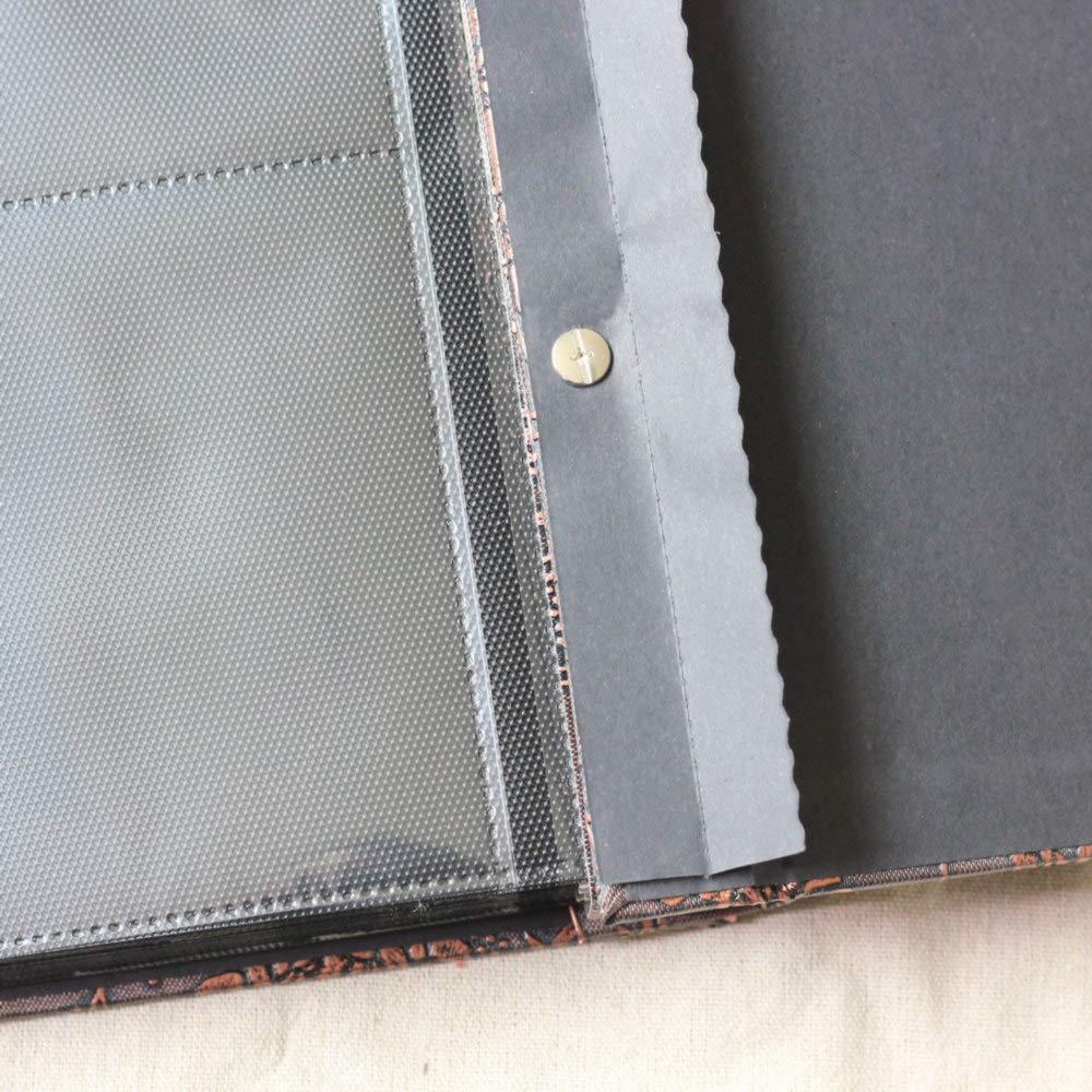 XIHOME Premium-Couverture en Cuir frottant Main r/étro Famille B/éb/é Album de Photos 640 Pochettes pour reliures 4x6 Photos 4 par Page Grande capacit/é Deluxe Personnalisable Couleur Marron Noble