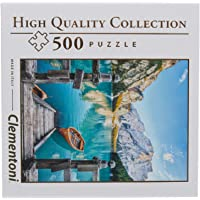 Clementoni - 96158 - Yetişkin Puzzle - Braies lake - 500 Parça