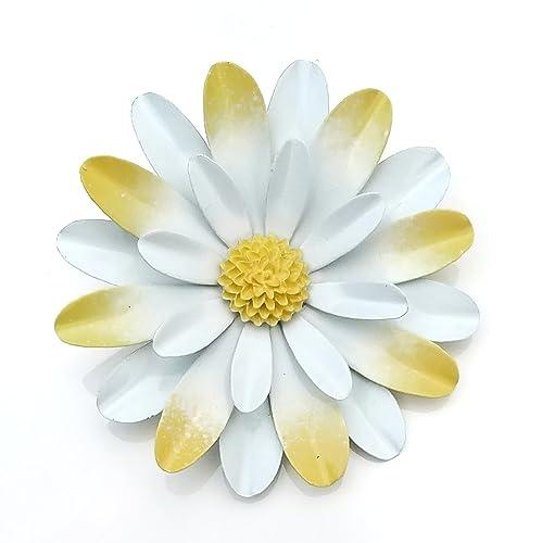 Amazon large white and yellow metal enamel flower brooch daisy large white and yellow metal enamel flower brooch daisy mightylinksfo