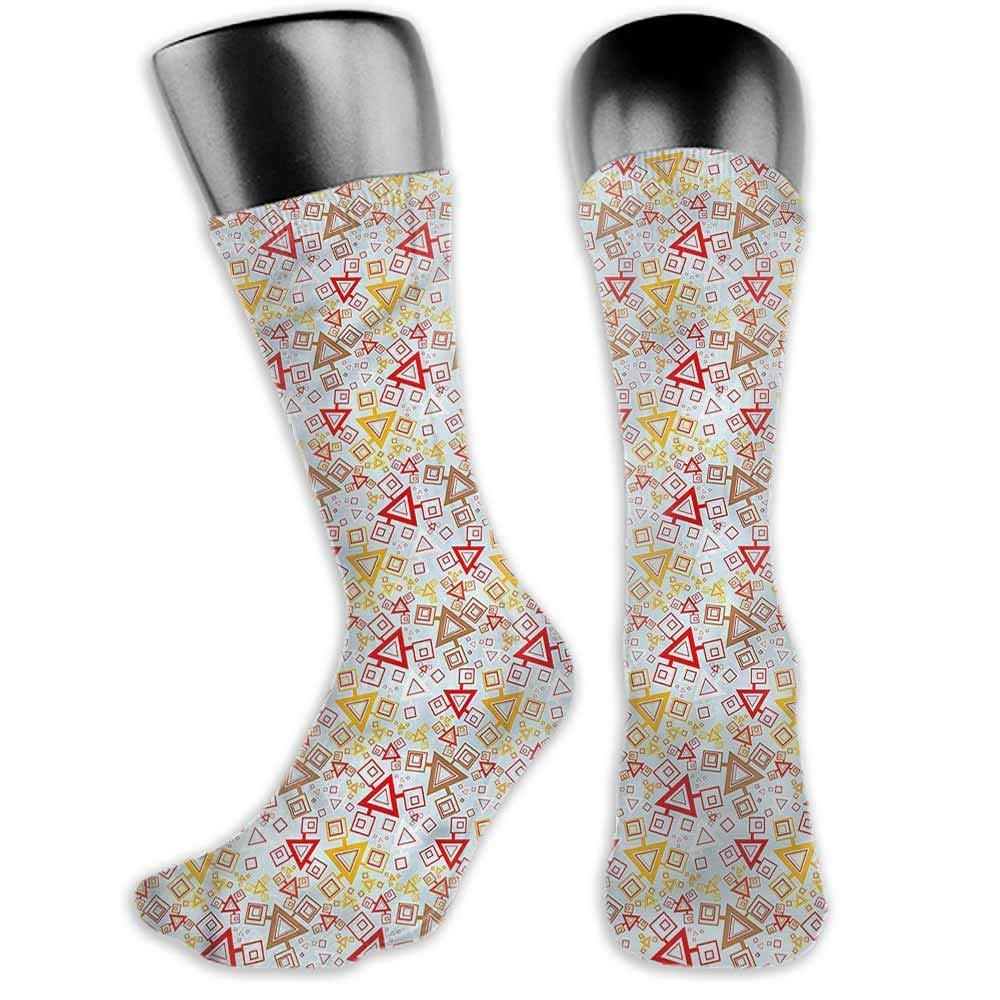 Wedding Socks Design Color Abstract,Vintage Floral Romance,socks men pack hanes