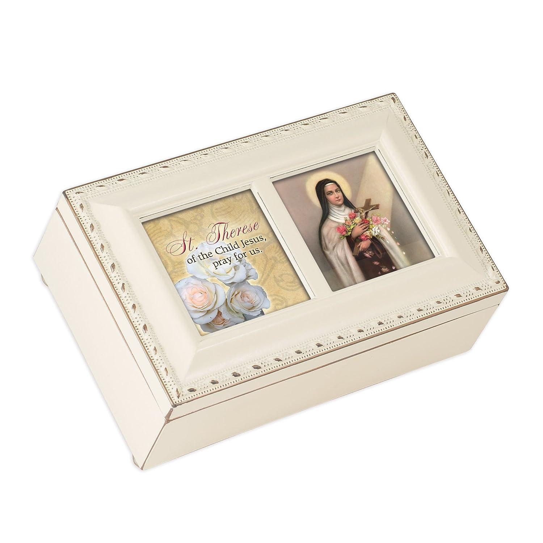 最新人気 Saint Cottage Terese Cottage Garden Music Inspirational Ivory Petite Music Box Box Plays Ave Maria B007P7YZOI, セイコー時計専門店 スリーエス:701c0444 --- efichas.com.br