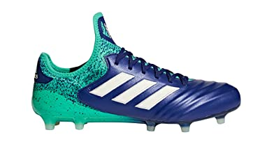 purchase cheap 42718 7dfec adidas Copa 18.1 FG Cleat - Mens Soccer 7.5 InkAero GreenHi Res