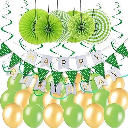 Decoración para fiesta de cumpleaños de Easy Joy, banderín ...