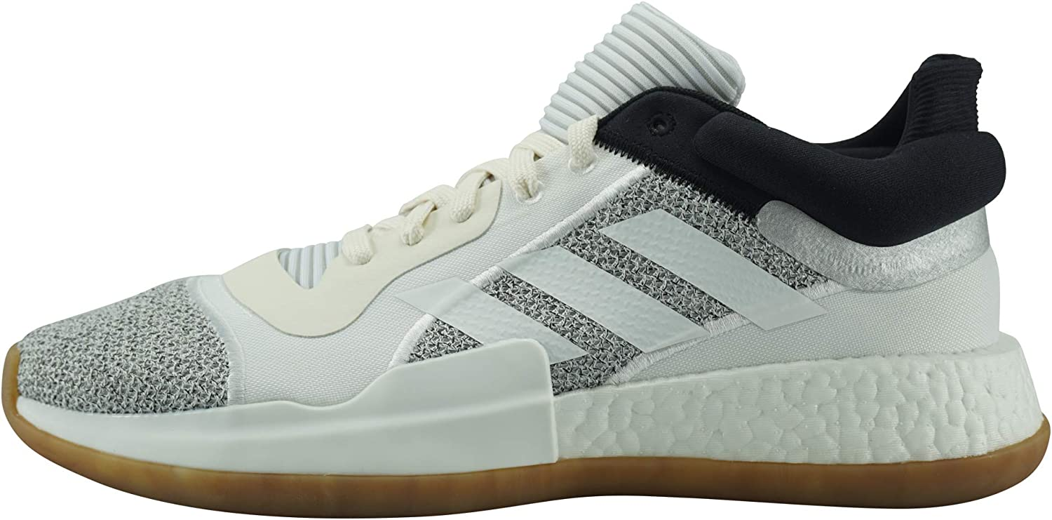 adidas Chaussure de Basketball Marquee Boost Low Blanc pour