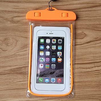 Bolsa Impermeable Luminosa Bolsillo Impermeable para teléfono ...