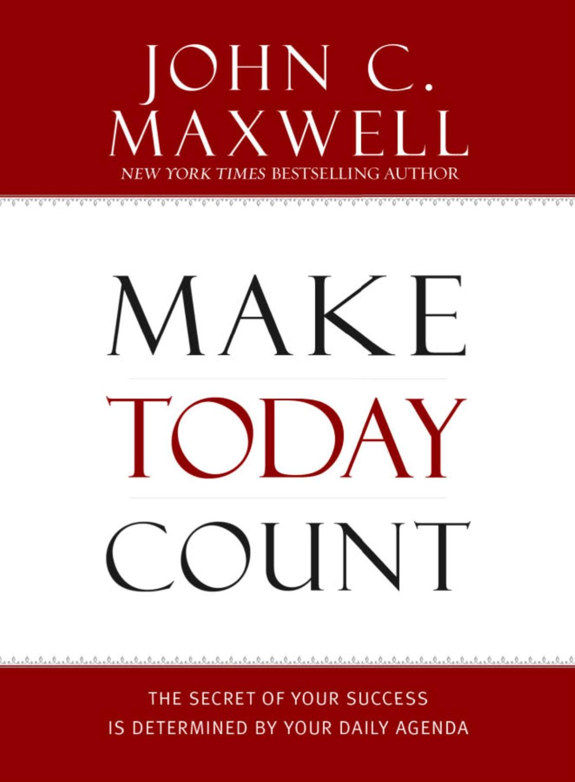 Make Today Count Success Determined