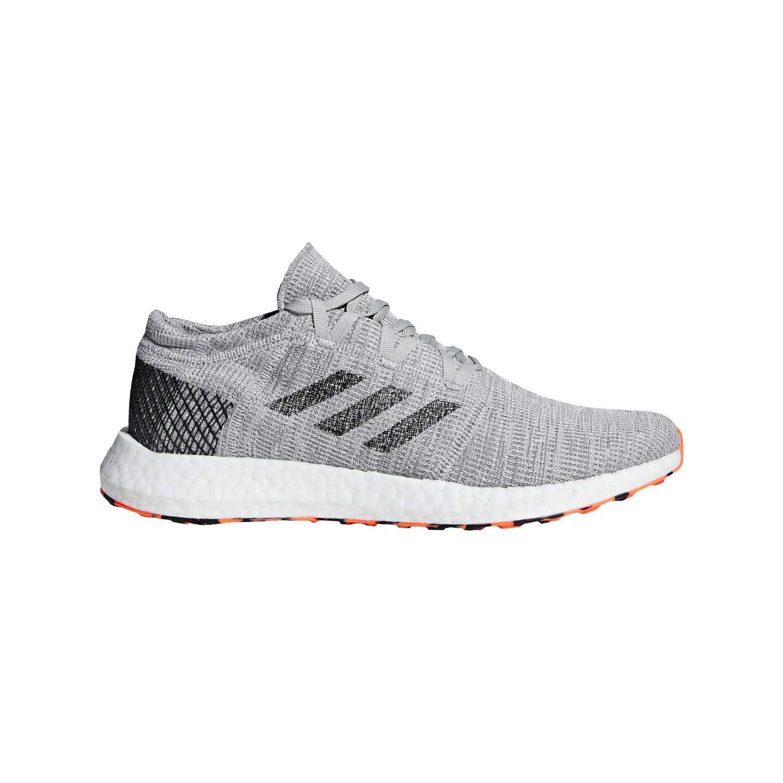 748ea85b9fe65 Amazon.com: adidas Pureboost Element Gry/Black/Org Running Shoes 7 ...
