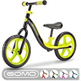 GOMO Balance Bike - Toddler Training Bike for 18 Months, 2, 3, 4 and 5 Year Old Kids - Ultra Cool Colors Push Bikes for…