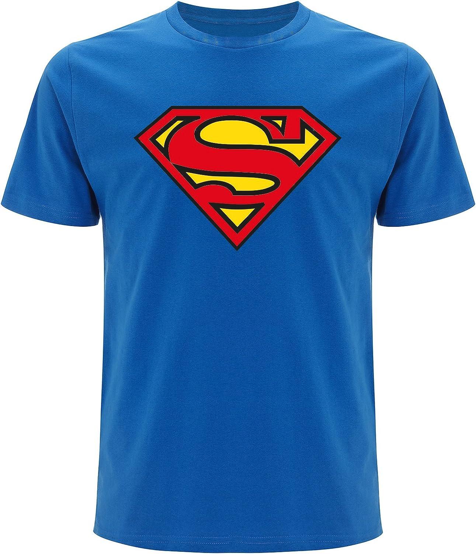 Superman – Camiseta para hombre, con logo (Unisex): Amazon.es: Ropa y accesorios