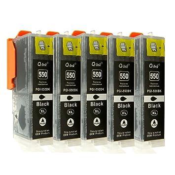 5 Cartuchos de impresora de tinta para Canon Pixma iP7250 ...
