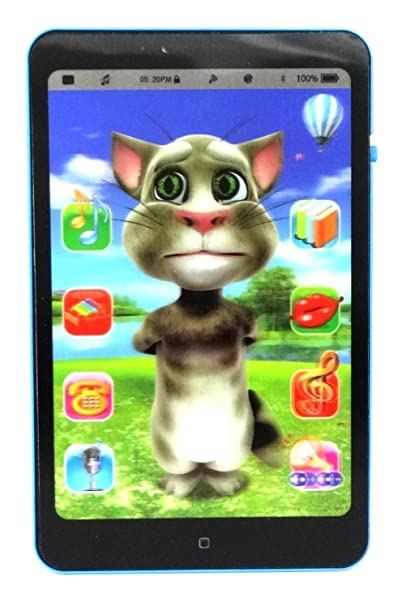 buy talking tom interactive learning tablet black online at low