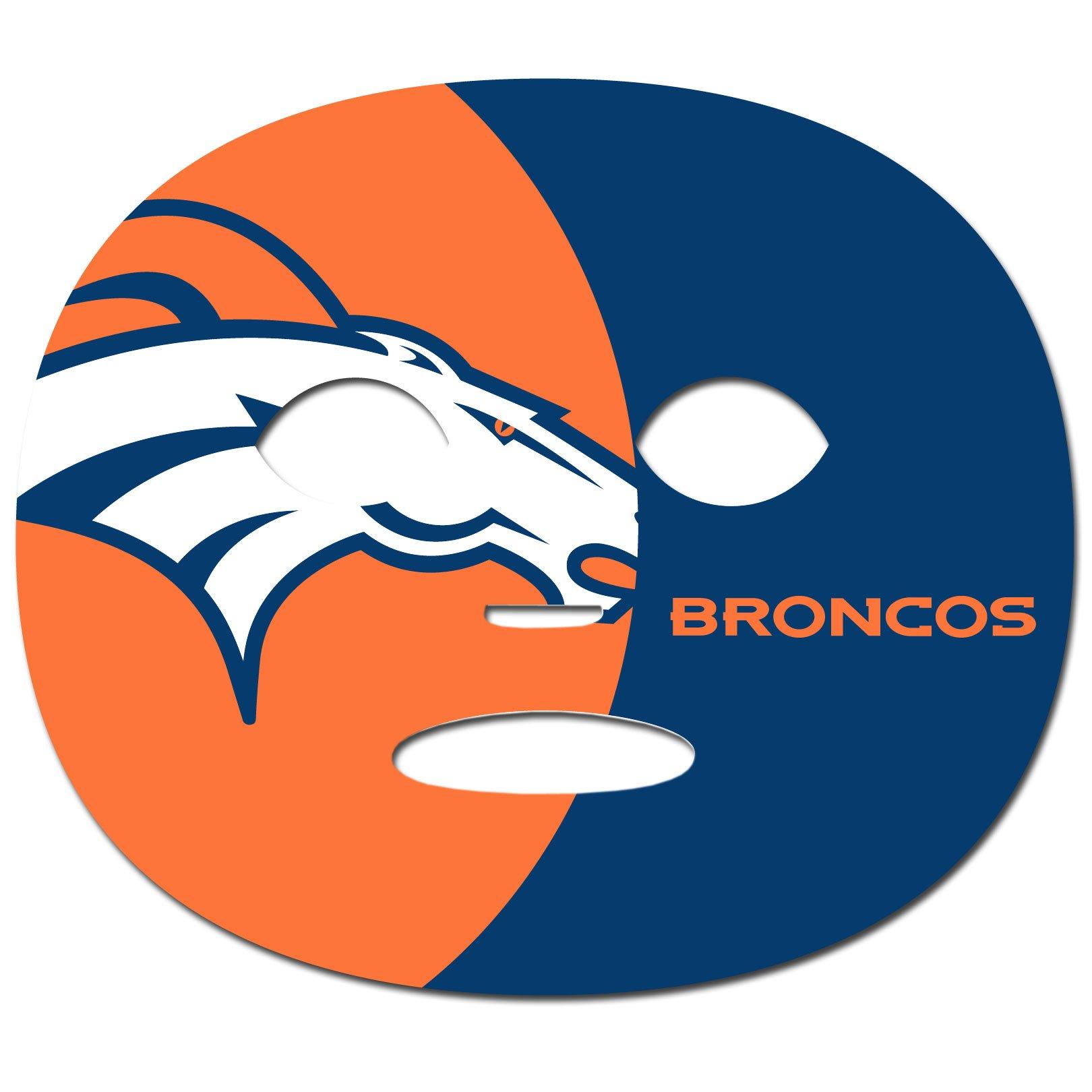 Siskiyou NFL Denver Broncos Game Day Face Temporary Tattoo