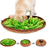 Kingtree Snuffle Mat for Dog Puzzle Toys Pet Feeding Mat Sniffing Training Bowl for Cats Dogs, Durable Interactive Game…