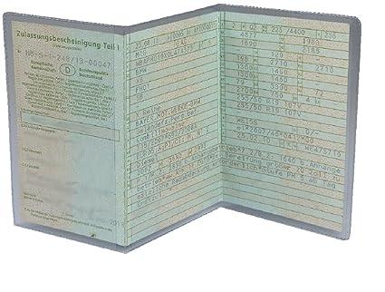 L&P A250 fundas protectoras para documentación de vehículos 3 piezas funda protectora de PVC moto transparente