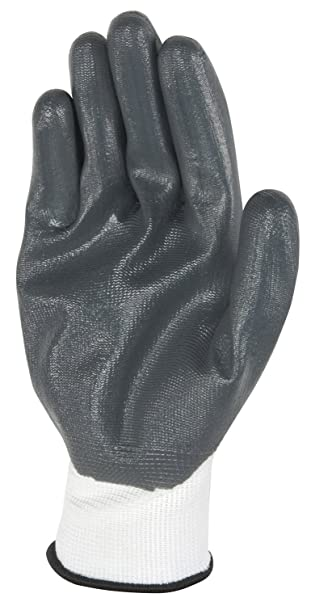 Mens Nitrile-Coated Work Gloves, All-Purpose, Large, 5-Pair Pack (Wells Lamont 563LA) - - Amazon.com