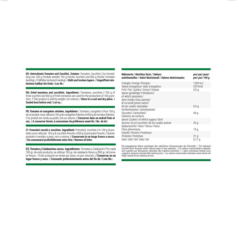 foodspring Crunchy Veggies, Tomates y calabacines, 60g, Chips para deportistas: Amazon.es: Alimentación y bebidas