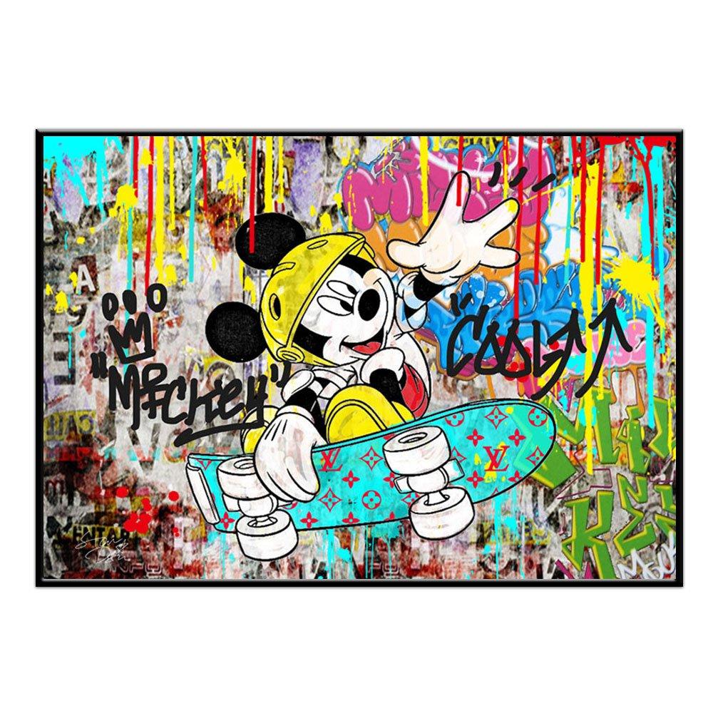 ルイ ヴィトン ミッキー ポップアート #td40 オマージュ アートポスター STAR DESIGN A1サイズ(594×841mm) カラー td40a B01N32TY82td40a A1(594×841mm)