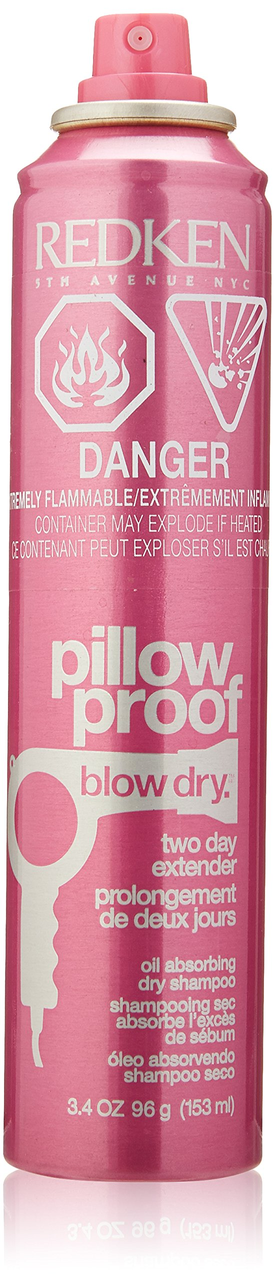 Redken Pillow Proof Blow Dry Two Day Extender for Unisex, 3.4 Ounce