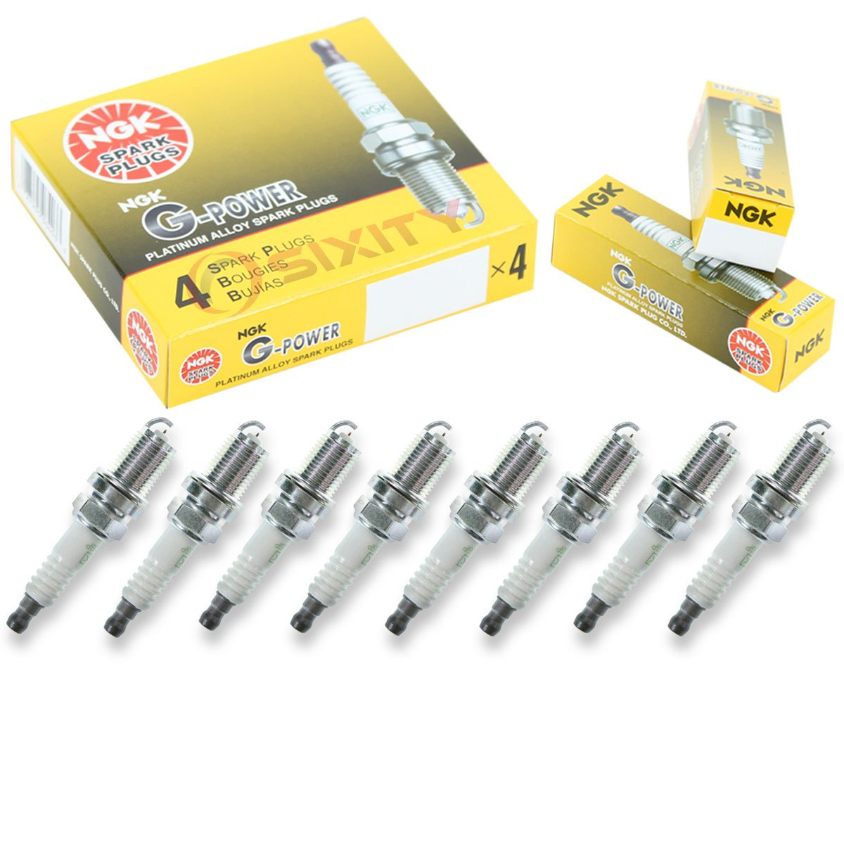 Amazon.com: NGK G-Power 8pcs Spark Plugs Toyota Tundra 00-09 4.7L V8 Kit Set Tune Up: Automotive