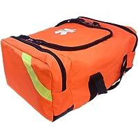 Ever Ready First Aid Bolsa Grande EMT de Primera Respuesta para Trauma, Naranja
