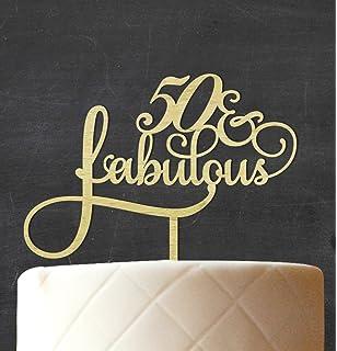 50 Fabulous Cake Topper Amazonca Home Kitchen