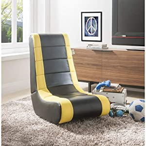 Posh Living Rockme Video Gaming Rocker Chair for Kids Teens and Adults