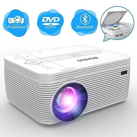 Proyector de videoproyector Bluetooth. DVD3500: Amazon.es: Informática