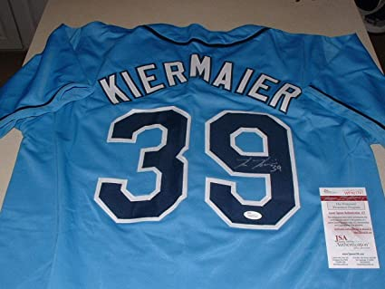 official photos 41e86 ca74d Kevin Kiermaier Auto Autographed Signed Tb Rays Jersey New ...