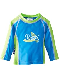 Baby Banz Boys' Long Sleeve Loose Fit Rash Top