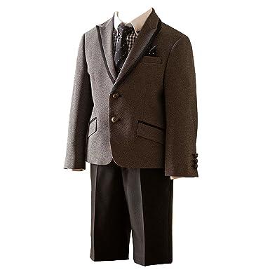 04eca65534b9e (キャサリンコテージ) Catherine Cottage子供服 MA502 男の子 トリミングジャケットスーツ6点セット
