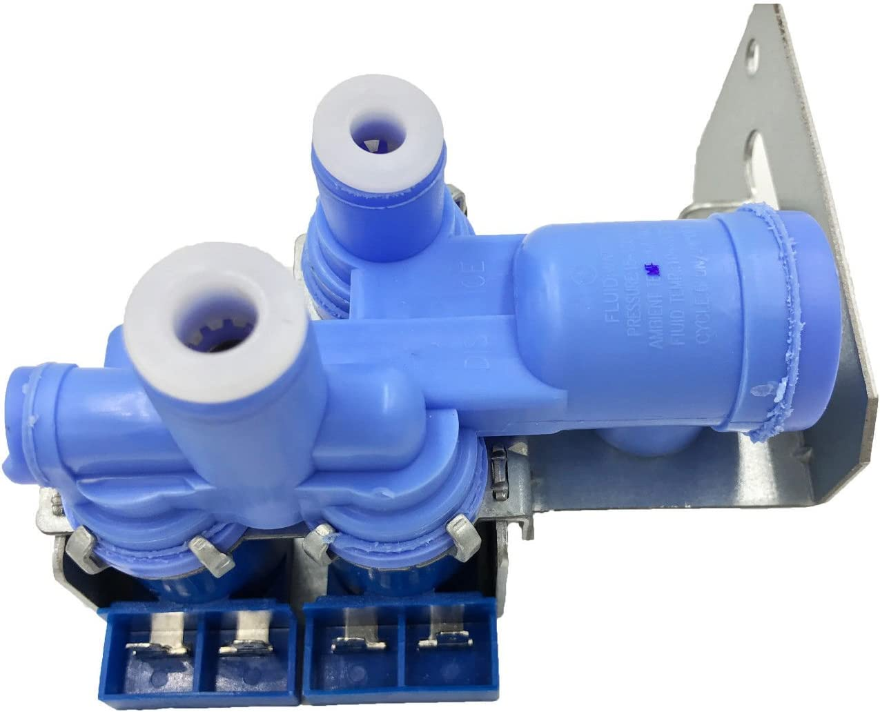 NEBOO WR57X10070 for GE Icemaker Water Inlet ValveTriple Coil Solenoid AP3996264 PS1483564