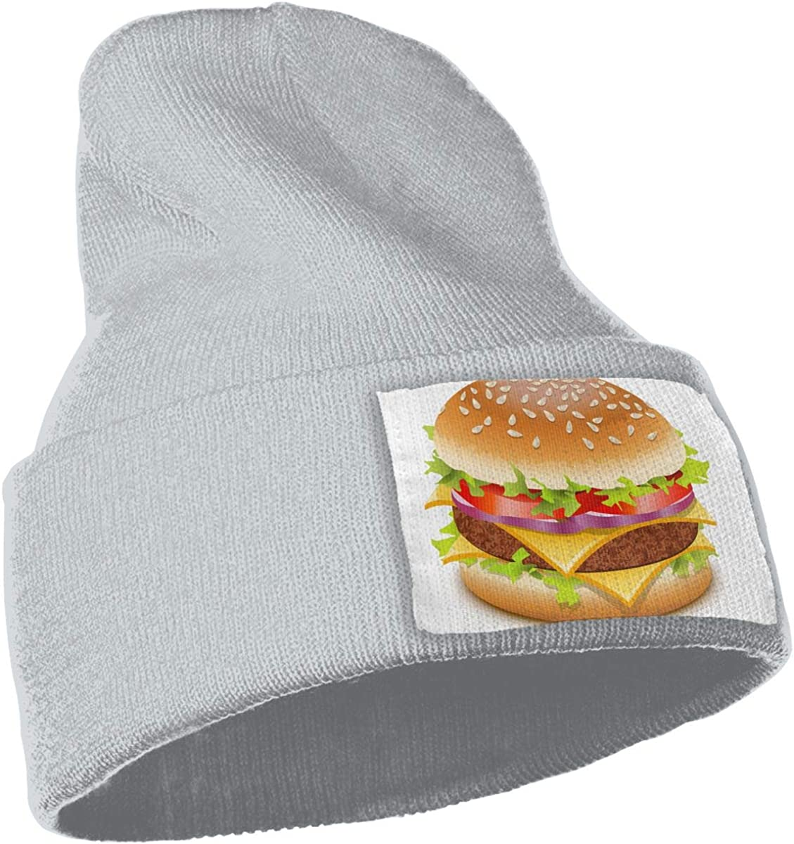 Burger Love Delicious Unisex Fashion Knitted Hat Luxury Hip-Hop Cap