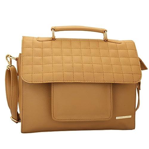 Lapis O Lupo Terra-Cotta Women s Sling Bag (Beige)  Amazon.in  Shoes    Handbags 61b78da4a9572