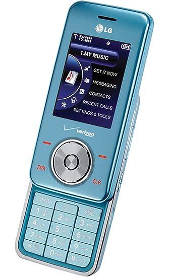 amazon com lg vx8550 chocolate 2 verizon phone light blue cell rh amazon com Verizon LG Chocolate Touch Phone Verizon LG Chocolate Touch Phone