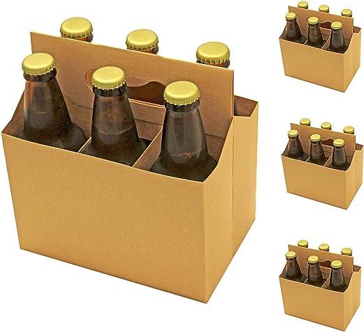 6 Pack Beer Holder (Pack de 4): Amazon.es: Hogar