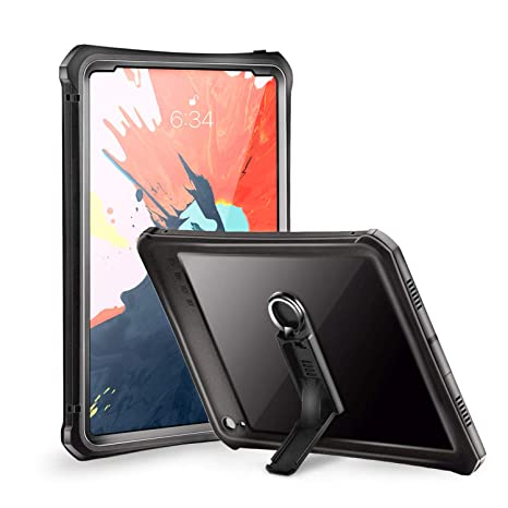 info for cd761 b7638 iPad Pro 11 Waterproof Case 2018, Meritcase IP 68 Waterproof Shockproof  Full Body Rugged Kickstand Protective Case for iPad Pro 11 inch 2018 ...