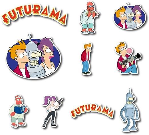 Leela Futurama Cartoon Character Sticker Decal Laptop Wall Car Phone