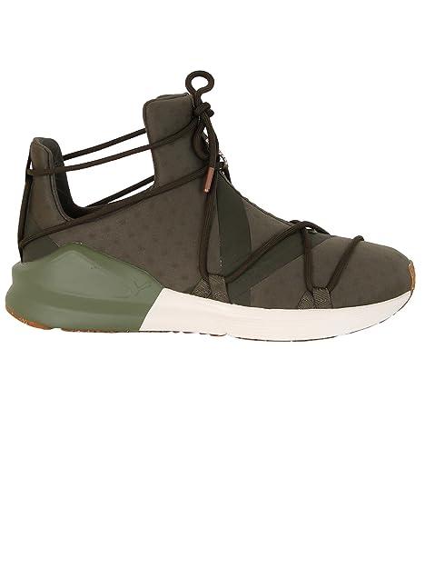 Alta qualit Sneaker PUMA 19013601 Color Verde