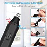 Nose and Ear Hair Trimmer, Professional Painless