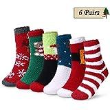 Rakuby 靴下 6足組混色セット クリスマスギフト 肌触り良い 吸汗速乾通気性