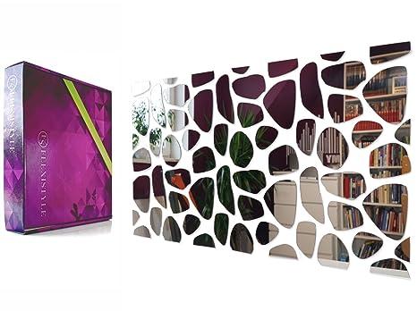 Camera Da Letto Rock : Specchio acrilico decorativo moderno rocks 100 x 50 cm bricolage