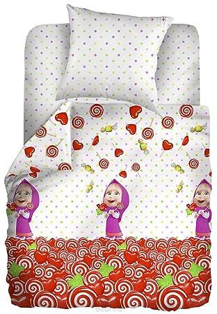 Mascha Und Der Bär Baby Bettwäsche Set Geburtstag Schlafzimmer