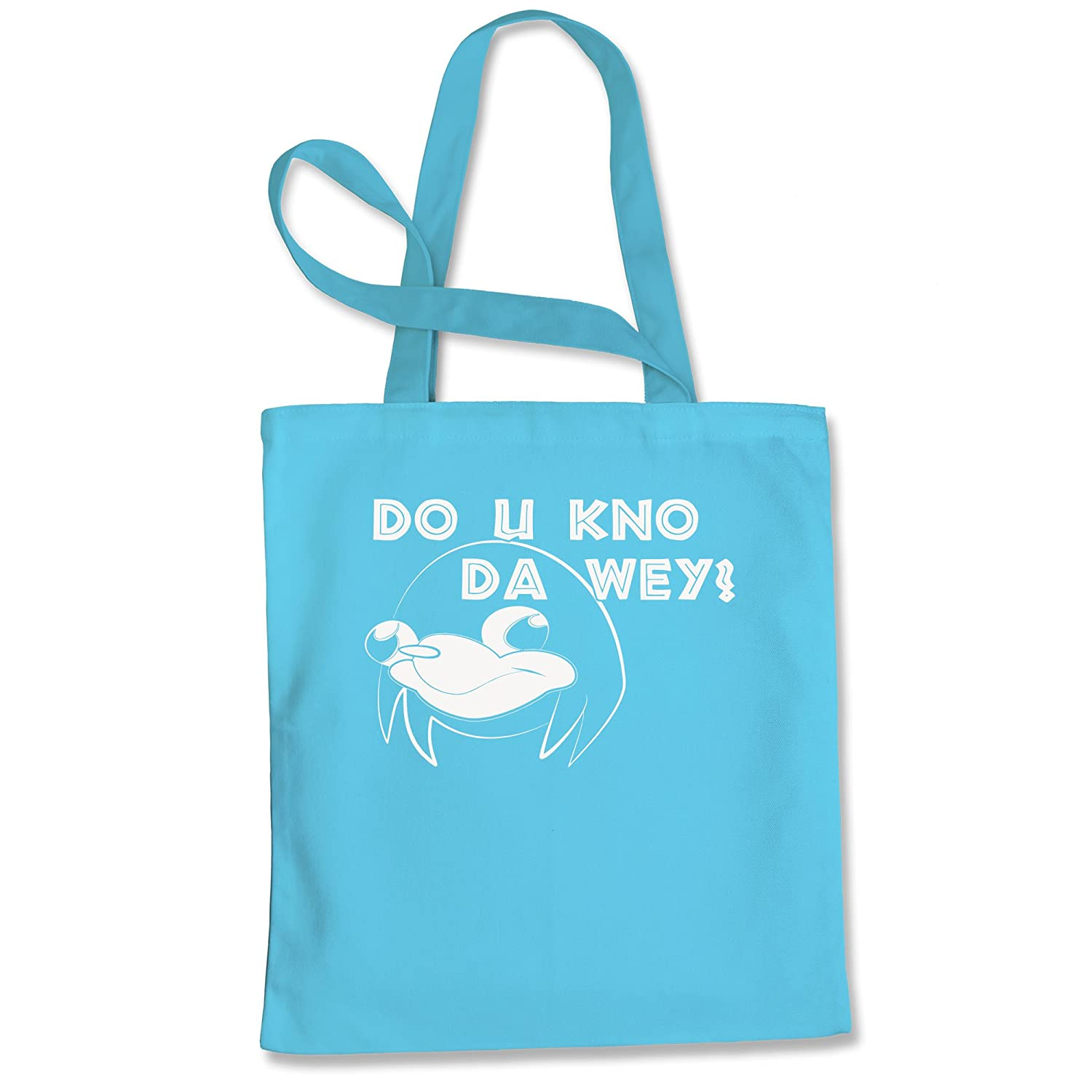 Tote Bag Ugandan Knuckles Do You Know Da Way Wey Pink Shopping Bag