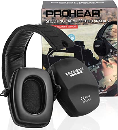 Outdoor Sport Hunting Fitness Tools Shooting Ear Protection Muffs Lighter Weight